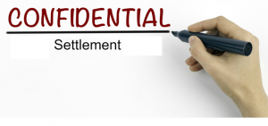 Confidential Settlements